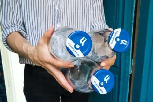 Nettoyage bouteilles La lessive de Paris
